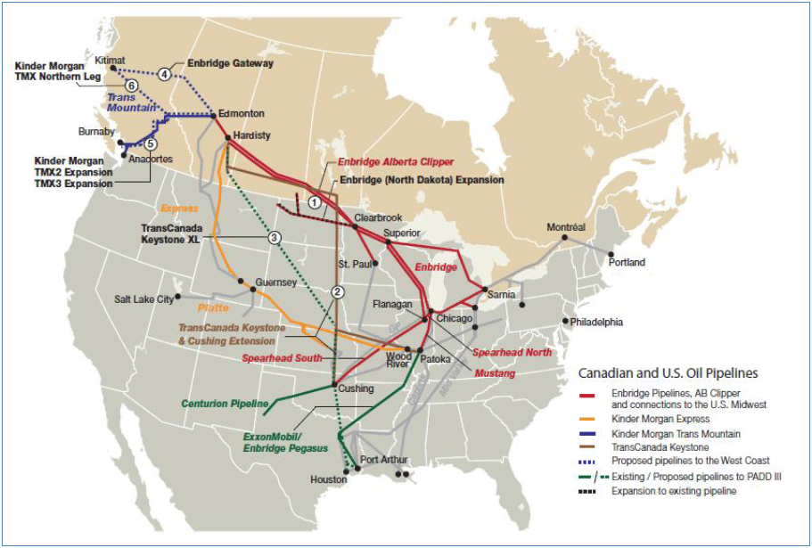 keystoneXL-map